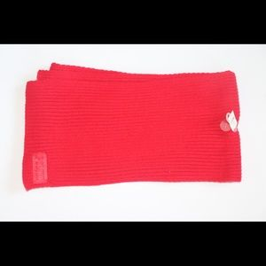 NWT Victoria's Secret PINK Red Scarf